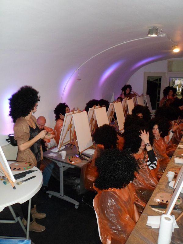 Bob Ross® workshop