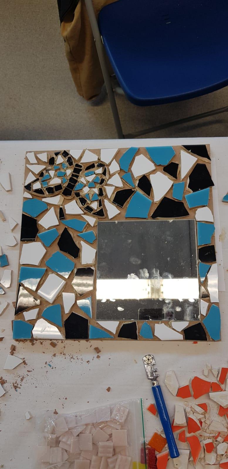 Mozaiek workshop
