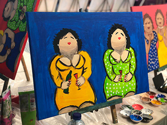 Wonderbaar Workshop Dikke Dames Schilderen • Puur* Rotterdam SL-24